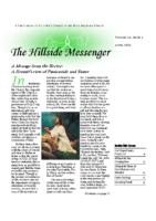 Hillside Messenger – April 2020