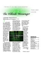 Hillside Messenger – August 2020