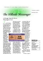 Hillside Messenger – February 2020
