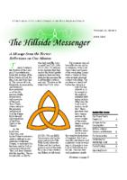 Hillside Messenger – June 2020