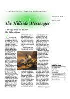 Hillside Messenger – March 2020
