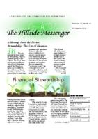 Hillside Messenger – November 2016