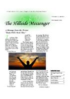 Hillside Messenger – September 2016