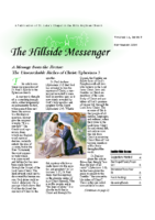 Hillside Messenger – September 2018
